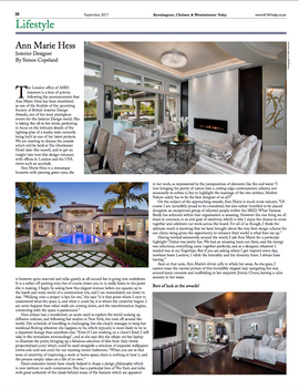 AMH Interiors Article