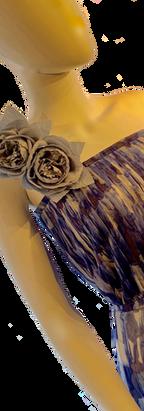 Corsage Chiffon Dress
