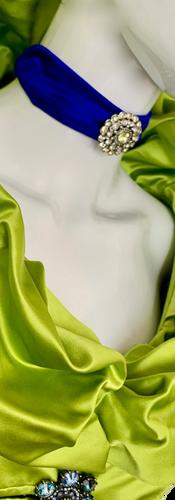 Lime Duchesse Coat