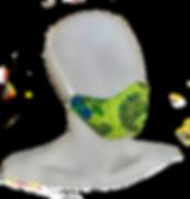 Lime Paisley