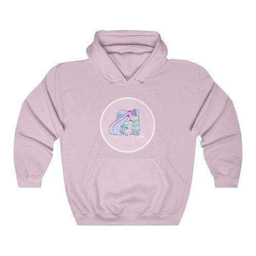 Valentines - Pink - Unisex Heavy Blend™ Hoodie
