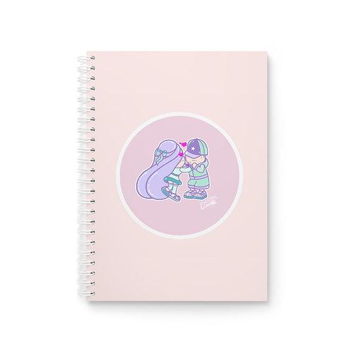 Valentines Spiral Notebook