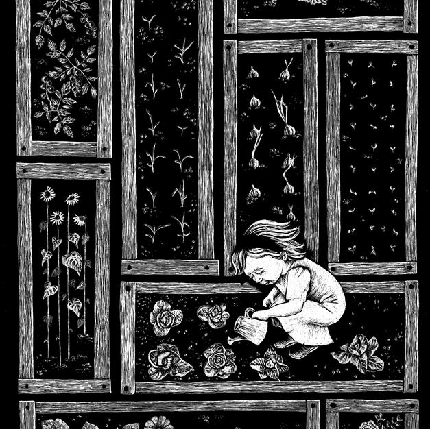 The littlest gardener