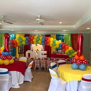 Trey's 1st Birthday Party