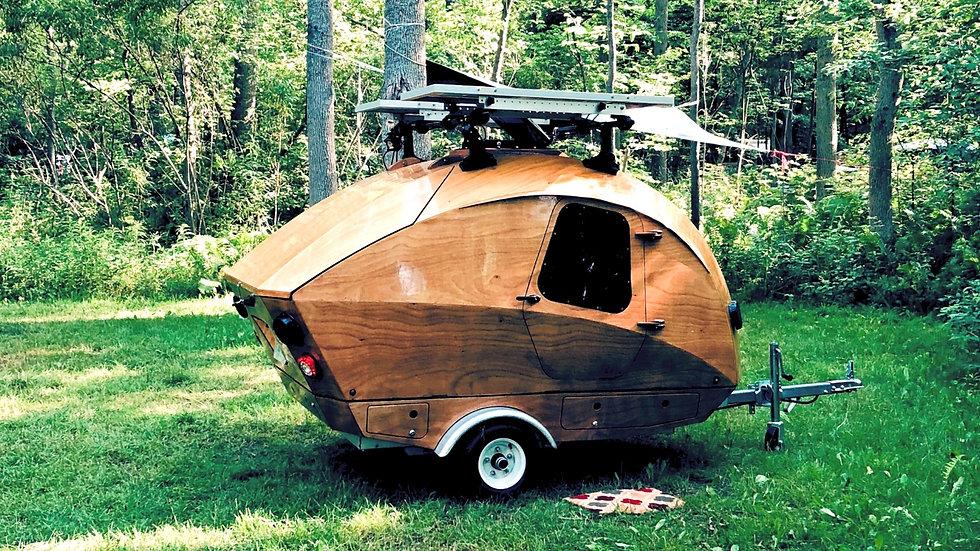 Teardrop Camper - Full equipped