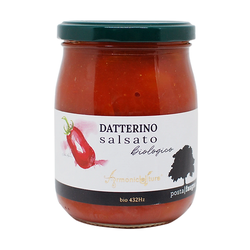 Tomates Datterino en sauce (agriculture bio-musicale)