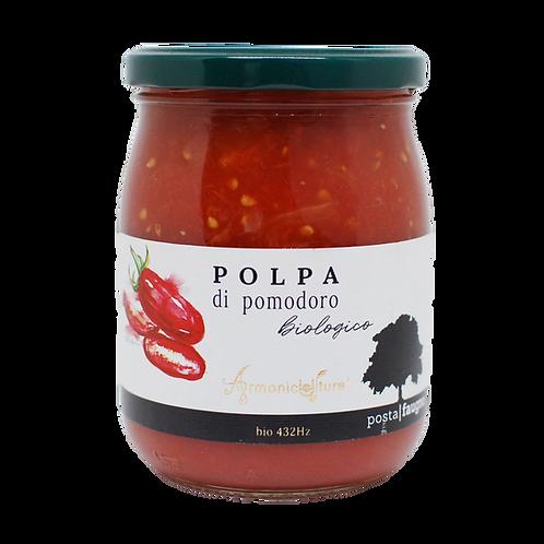 Pulpe de tomates (agriculture bio-musicale)