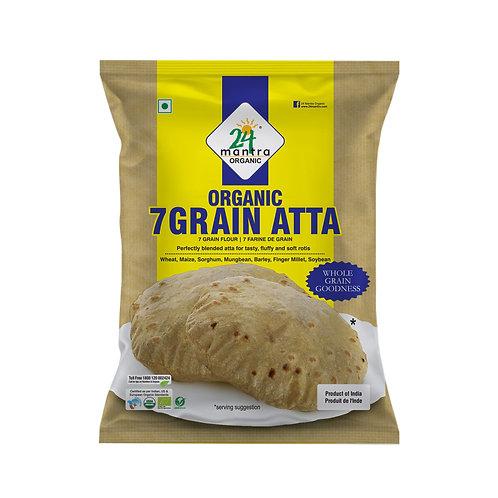 7 Grain Flour (Atta) - 24 Mantra Organic - 1 kg