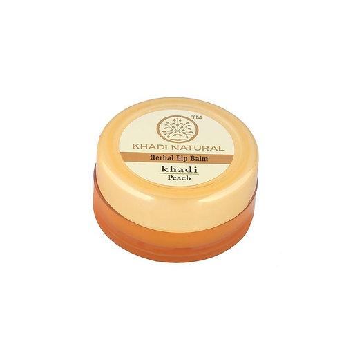 Peach Lip Balm - Khadi Natural - 5 gm