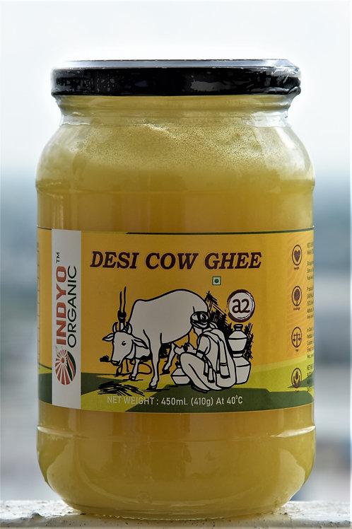 Desi Gau Ghrit - Indyo Organic - 450 ml