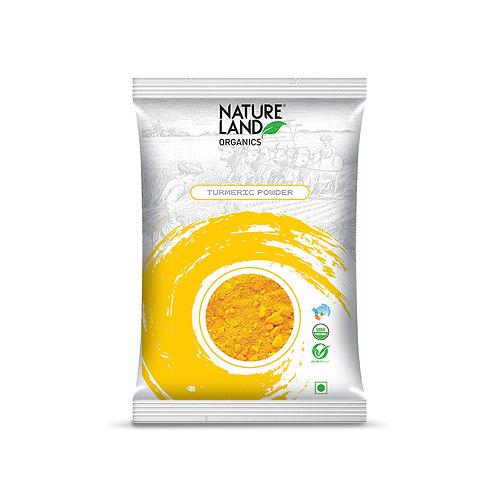 Turmeric (Haldi) Powder - Natureland Organics - 200 gm