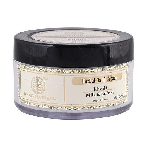 Milk & Saffron Hand Cream - Khadi Natural - 50 gm