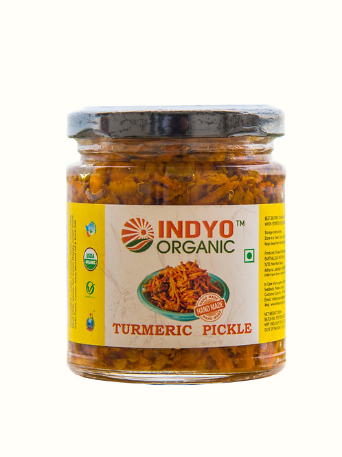 Turmeric Pickle - Indyo Organic - 200 gm