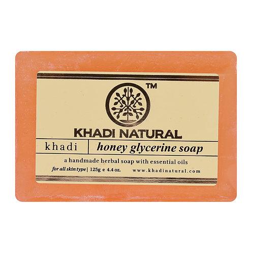 Honey Glycerine Soap - Khadi Natural - 125 gm