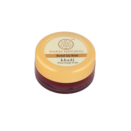 Wine Grapefruit Lip Balm - Khadi Natural - 5 gm