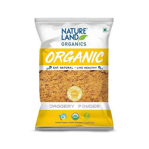 Jaggery (Gud) Powder - Natureland Organics - 500 gm