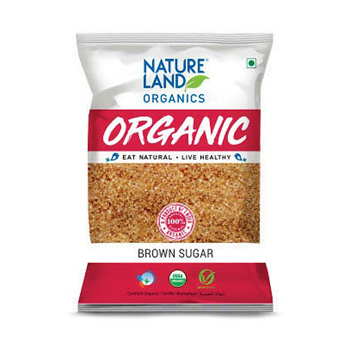 Brown Sugar - Natureland Organics - 500 gm