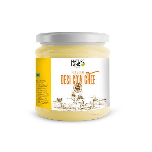 Ghee Premium Cow - Natureland Organics - 400 ml