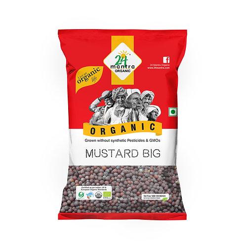 Mustard Big (Sarso) Seed - 24 Mantra Organic - 100 gm