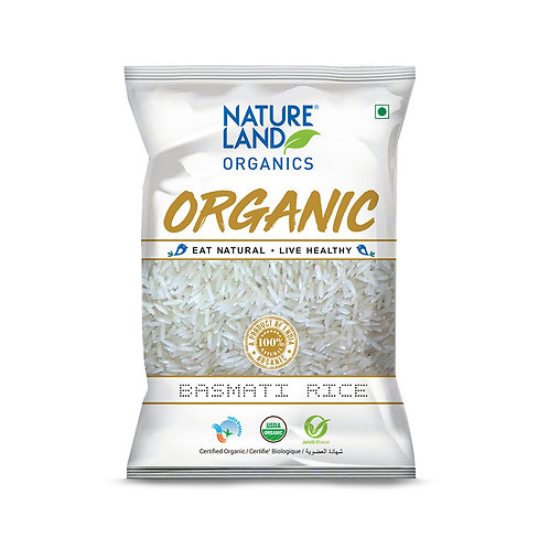 Basmati Rice Regular - Natureland Organics - 1 kg