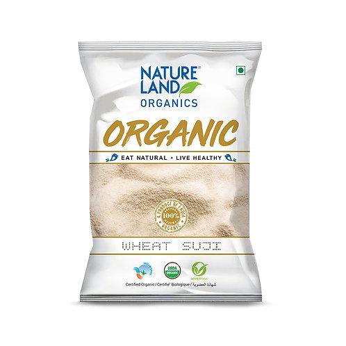 Suji Wheat - Natureland Organics - 500 gm