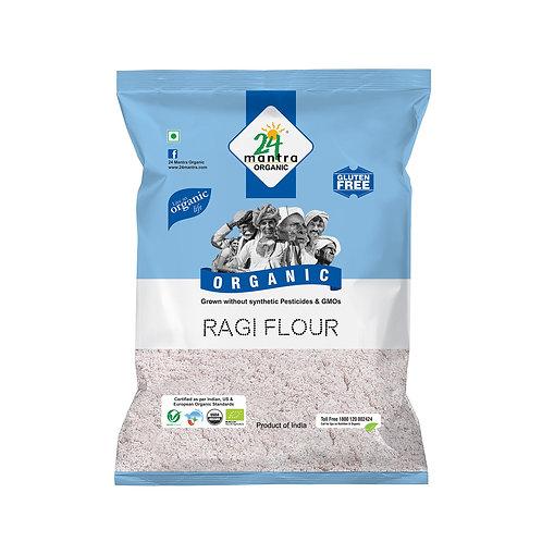 Ragi Flour (Atta) - 24 Mantra Organic - 500 gm