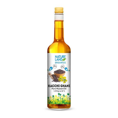 Mustard Oil - Natureland Organics - 1 L