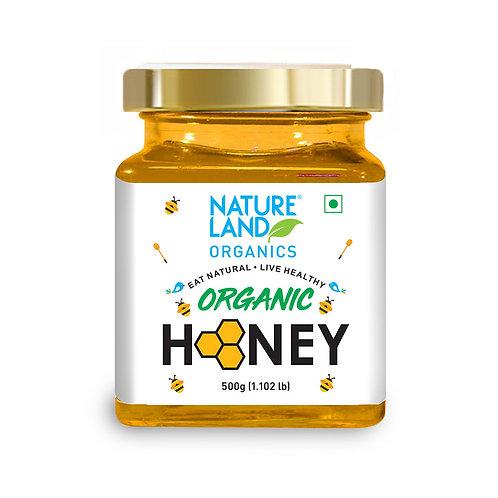 Honey  - Natureland Organics - 500 gm