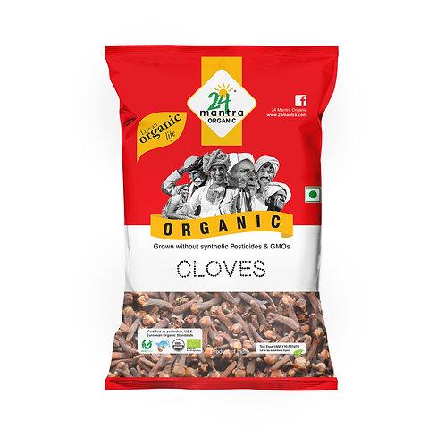 Clove (Laung) - 24 Mantra Organic - 50 gm