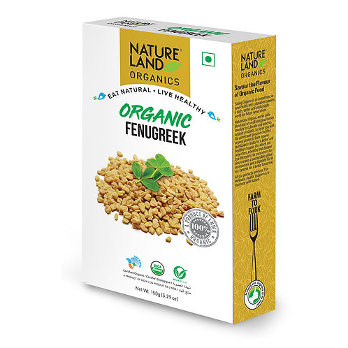 Fenugreek (Methi) - Natureland Organics - 150 gm