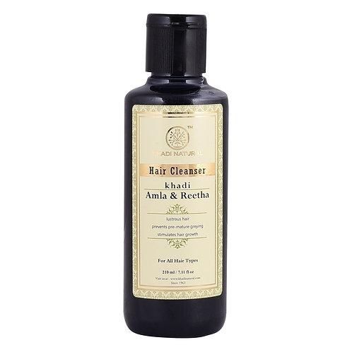 Amla & Reetha Hair Cleanser - Khadi Natural - 210 ml