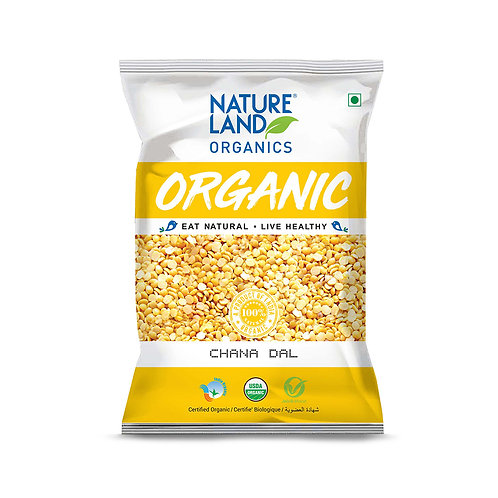 Chana Dal - Natureland Organics - 500 gm