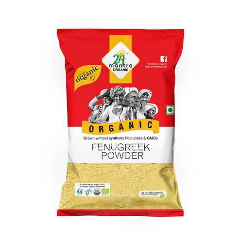 Fenugreek (Methi) Powder - 24 Mantra Organic - 100 gm