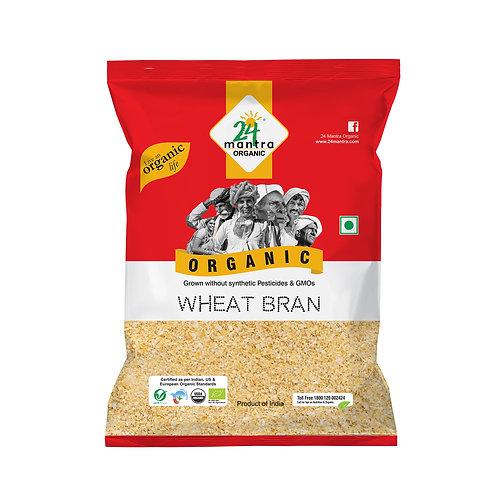 Wheat Bran - 24 Mantra Organic - 500 gm