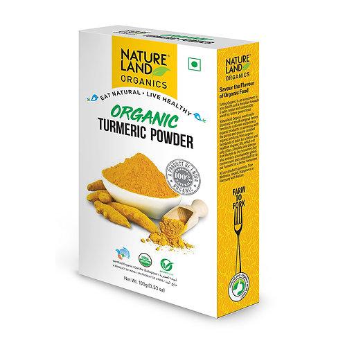 Turmeric (Haldi) Powder - Natureland Organics - 100 gm