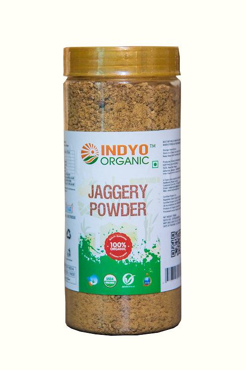 Jaggery (Gud) Powder - Indyo Organic - 500 gm