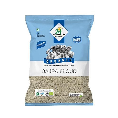 Bajra Flour (Atta) - 24 Mantra Organic - 500 gm
