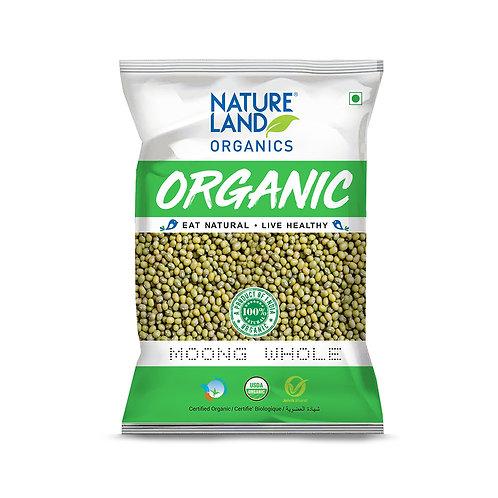 Moong Dal Whole - Natureland Organics - 500 gm