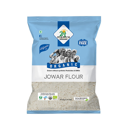 Jowar Flour (Atta) - 24 Mantra Organic - 500 gm
