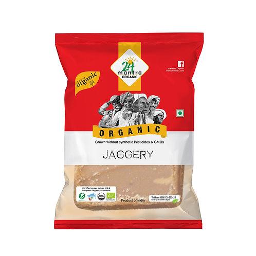 Jaggery (Gud)- 24 Mantra Organic - 450 gm