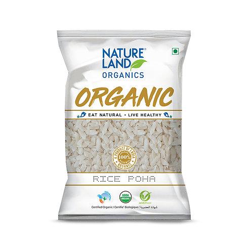 Poha (Flattened Rice) - Natureland Organics - 500 gm