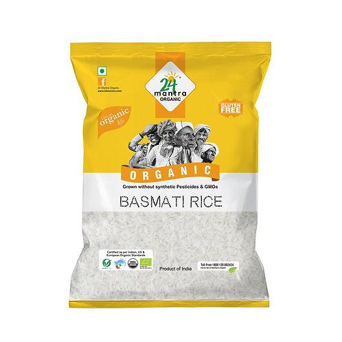 Basmati Rice White Premium - 24 Mantra Organic - 1 kg