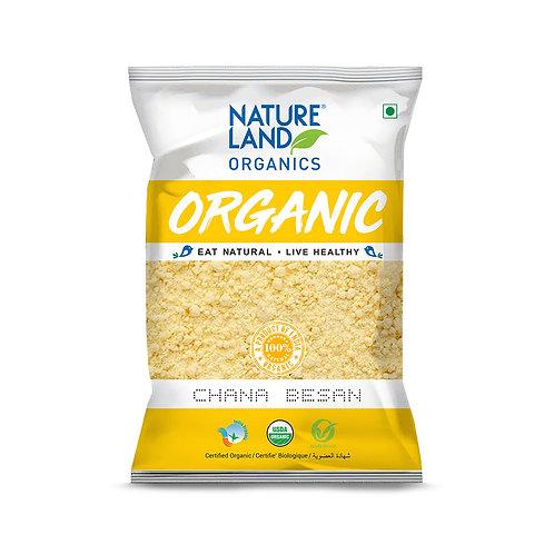 Besan (Gram Flour) - Natureland Organics - 500 gm