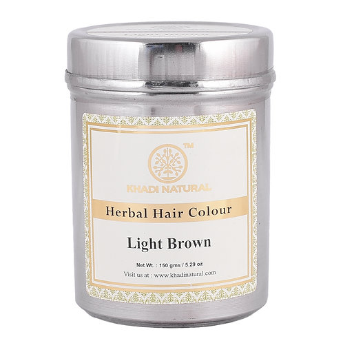 Light Brown Henna Colour - Khadi Natural - 150 gm