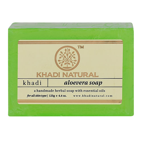 Aloevera Soap - Khadi Natural - 125 gm