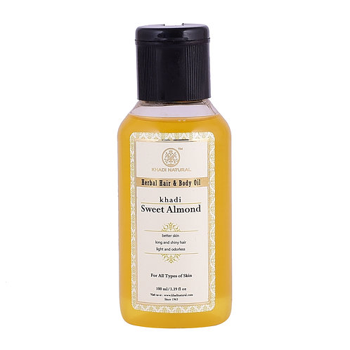 Sweet Almond Oil - Khadi Natural - 100 ml