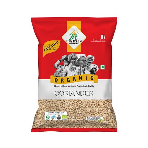 Coriander (Dhaniya) Seed - 24 Mantra Organic - 100 gm