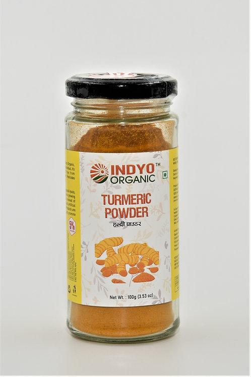 Turmeric (Haldi) Powder - Indyo Organic - 100 gm