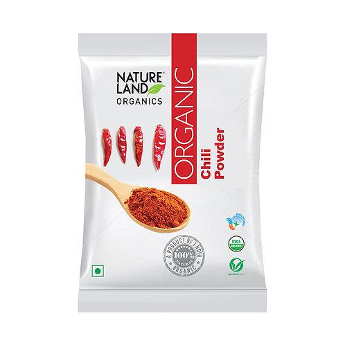 Red Chilli (Laal Mirch) Powder - Natureland Organics - 200 gm