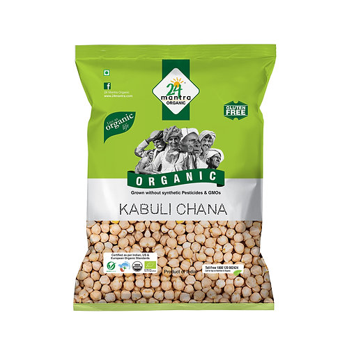 Kabuli Chana - 24 Mantra Organic - 500 gm